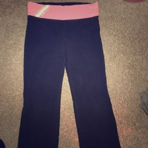 PINK Victoria's Secret black and pink
